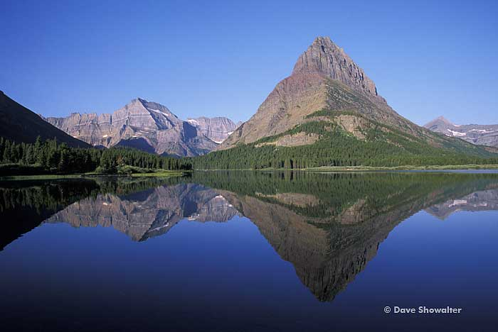 Grinnel Point, Swiftcurrent Lake, Glacier National Park, photo
