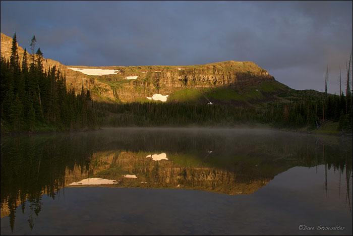 Flat Tops, Hooper Lake, photo