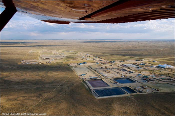 lighthawk, jonah natural gas field, photo
