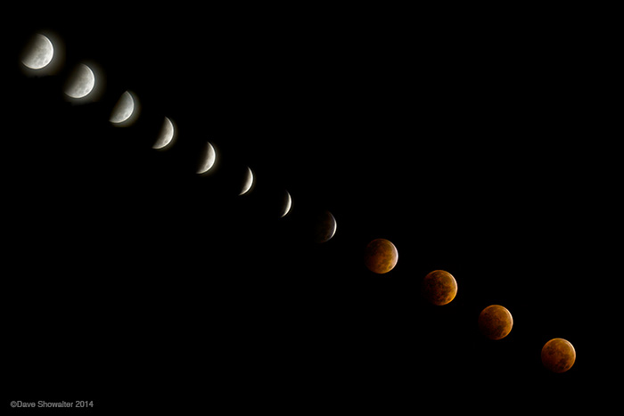 lunar eclipse, blood moon, photo