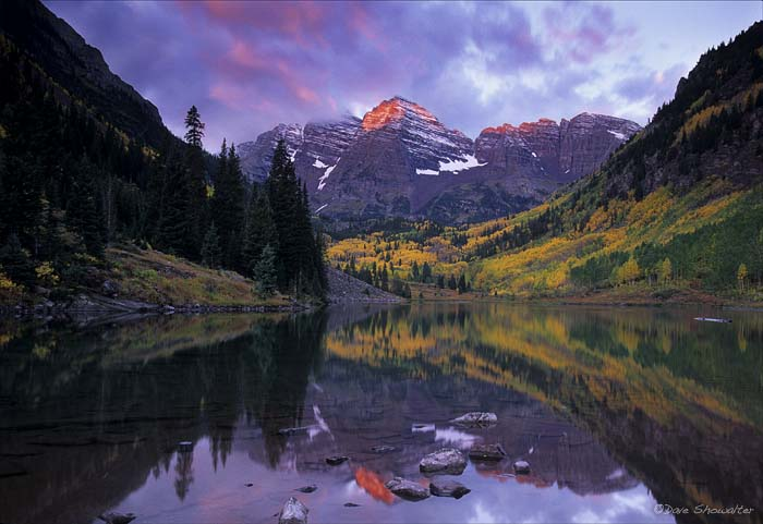 Maroon Bells, Maroon Bells-Snowmass Wilderness, aspen, photo