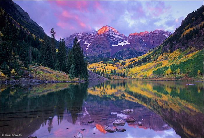 maroon peak, maroon lake, photo