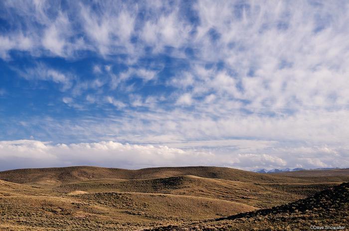 sagebrush hills, North Park, photo