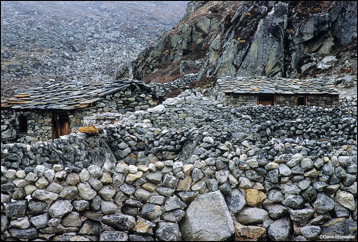 Ngozumpa Glacier, Cho La Pass, photo