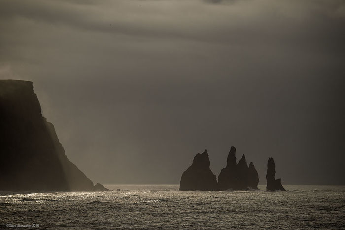 reynisdrangar, sea stacks