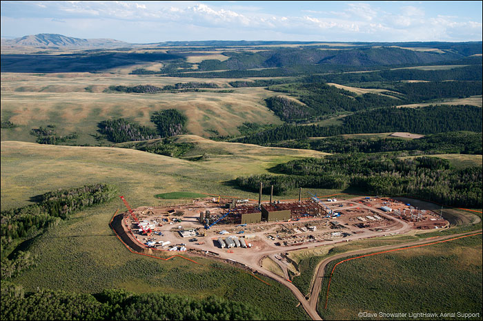 riley ridge, natural gas, photo