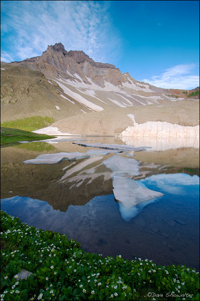 Yankee Boy Basin, Wright Lake, Uncompahgre National Forest, photo