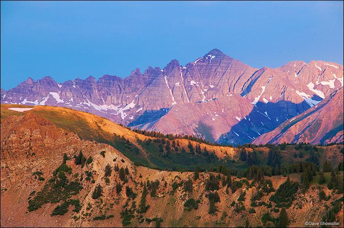 Castle Peak, Conundrum, Taylor Pass, Maroon Bells-Snowmass Wilderness, photo