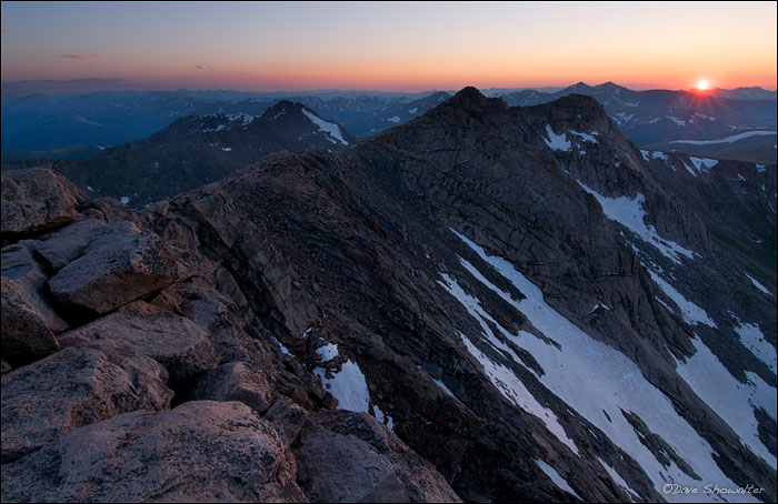 Colorado Rockies, Mount Evans Wilderness Area, Gray's and Torrey's Peaks, photo