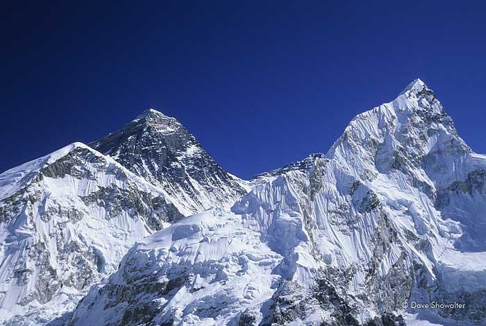 Mount Everest, Sagarmatha National Park, photo