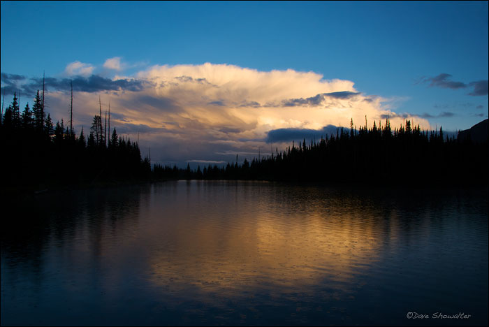 Hooper Lake, Flat Tops Wilderness Area, photo