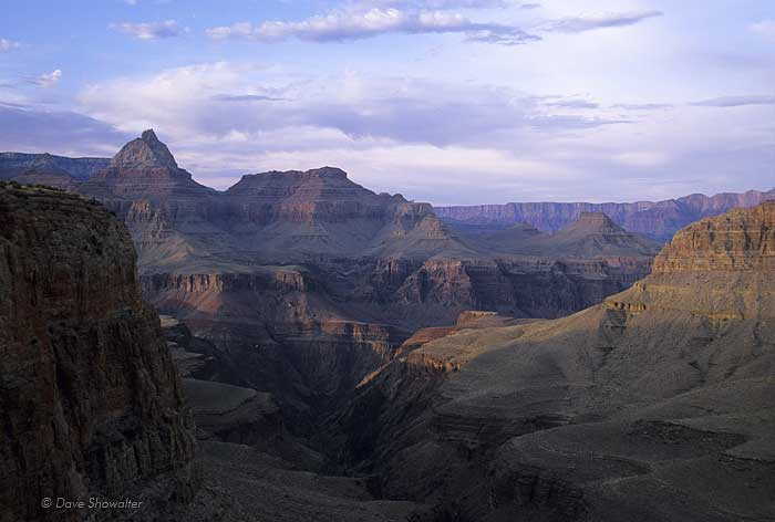 Vishnu Temple, Horseshoe Mesa, Grand Canyon National Park, photo