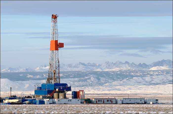 Wind River Range, natural gas drilling, greater sage grouse, photo