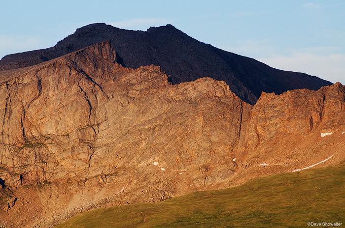 Mount Evans, Mount Bierstadt, photo