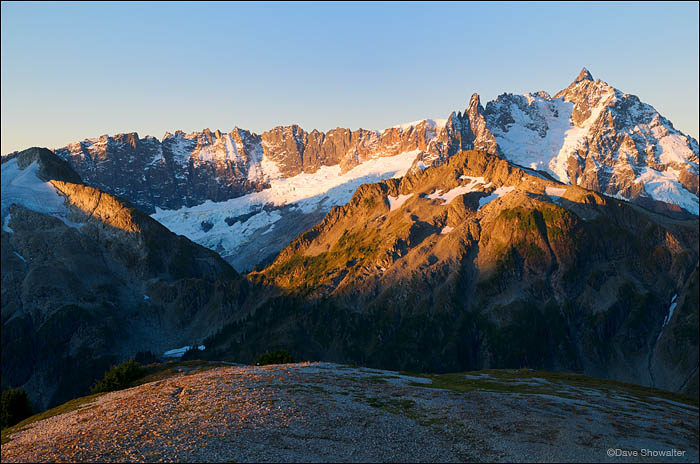 Shuksan Peak, Hannegan Peak, North Cascades National Park, Washington, photo