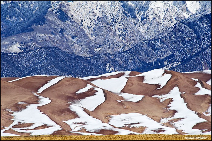 great sand dunes, sangre de cristo mountains, photo