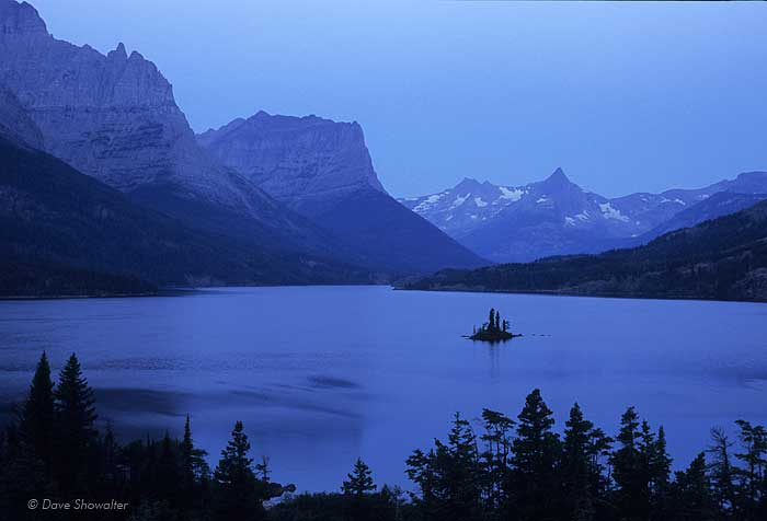 wild goose island, Saint Mary Lake, Glacier National Park, photo