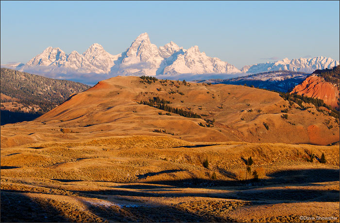 Teton Range, Gros Ventre Basin, Red Hills, photo