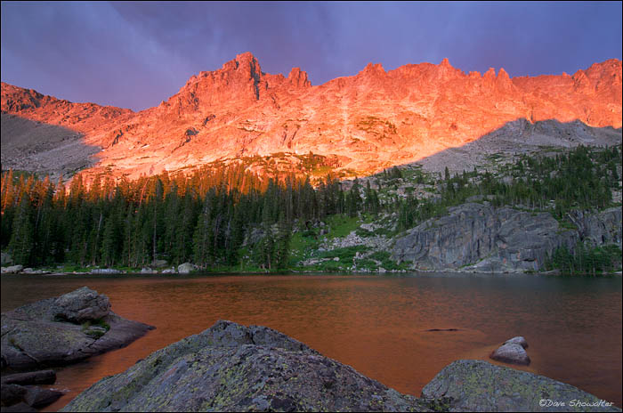 Mount Toll, Indian Peaks, Pawnee Lake, photo