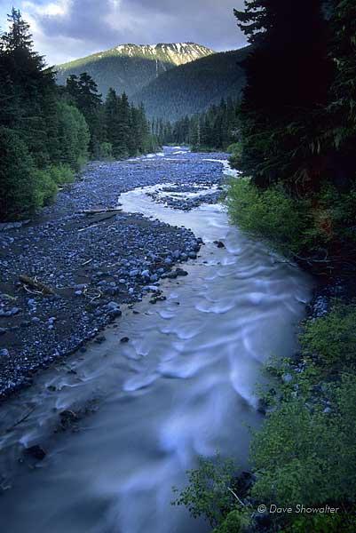 white river, Mount Rainer National Park, photo