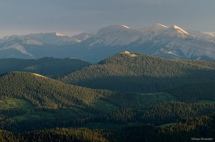 lookout peak, wyoming range, photo