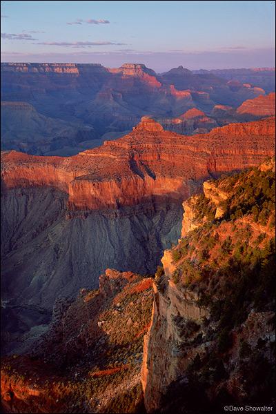 Yavapai Point, south rim, Grand Canyon National Park, photo