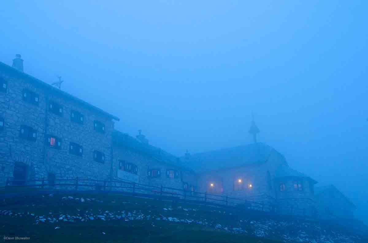 rifugio, Cima Catinaccio, Dolomite Alps, photo