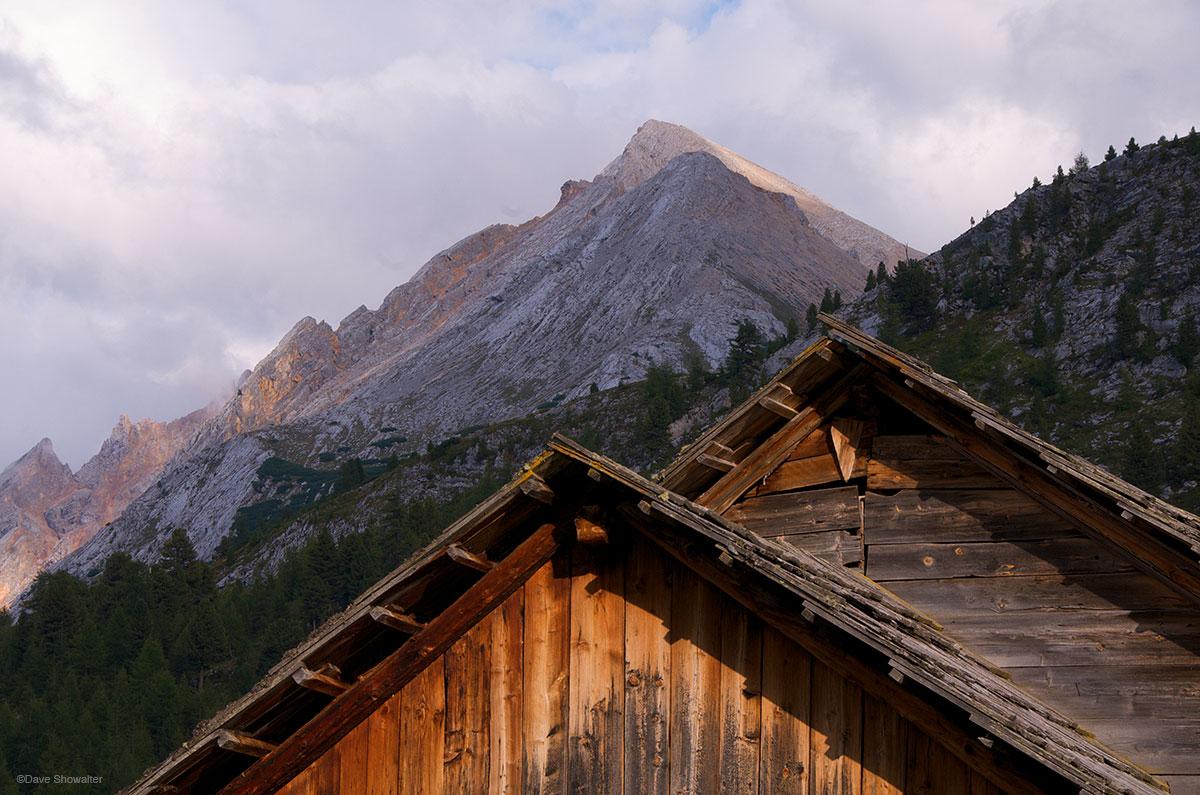 Fanes Valley, Dolomite Alps, photo