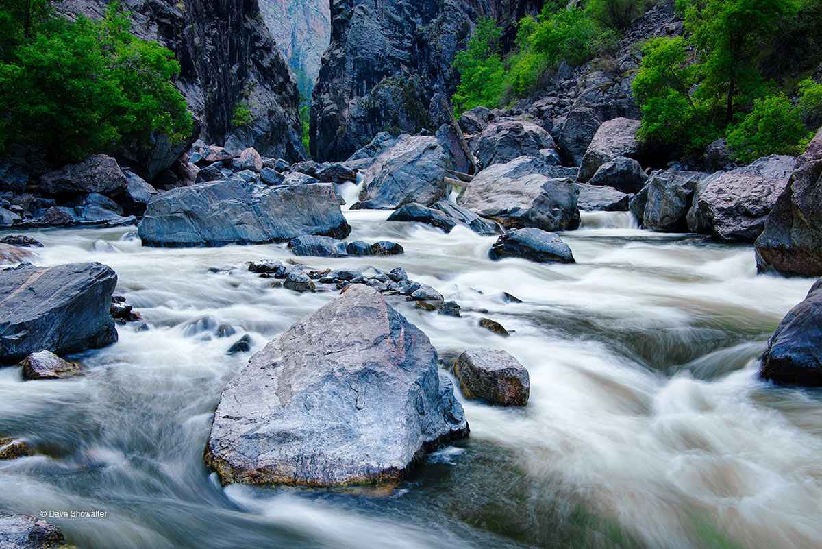 gunnison river, the narrows, photo