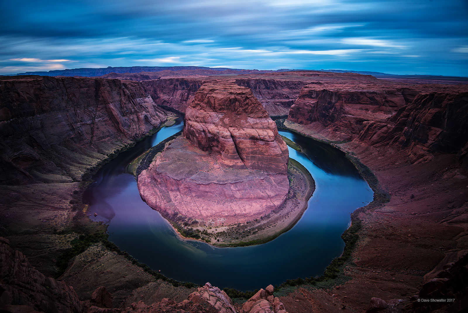 colorado river, horseshoe bend, photo