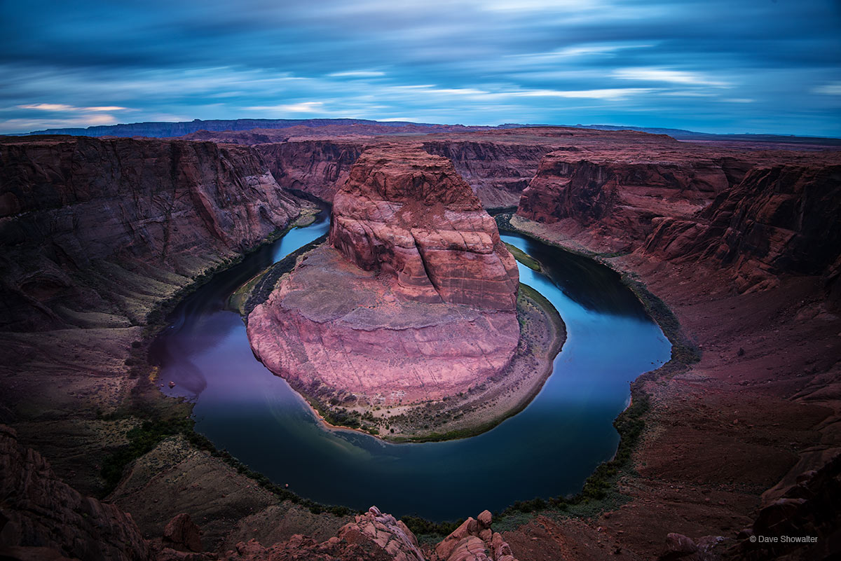 horseshoe bend, colorado river , photo