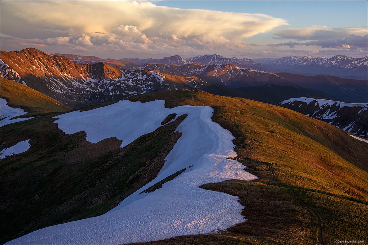 Quandary Peak, Lenawee Mountain, photo
