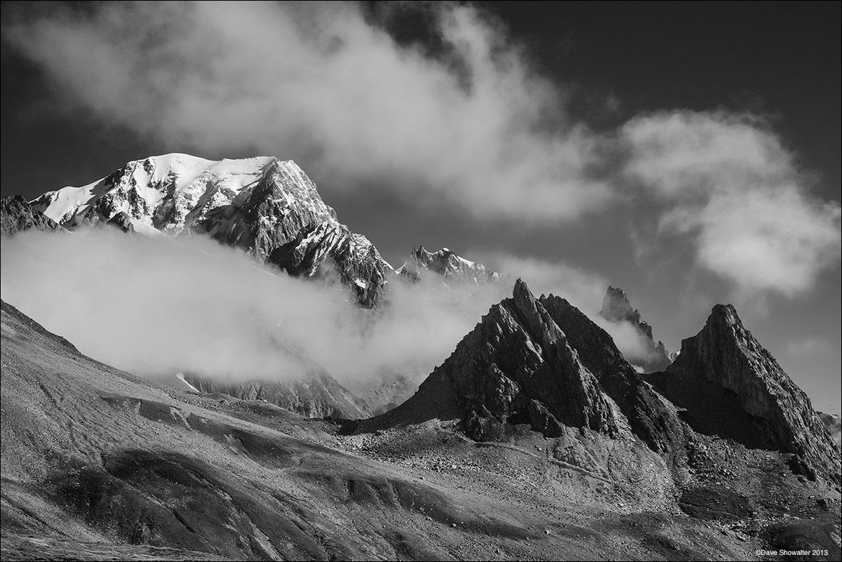 mont blanc, col de la seigne, photo