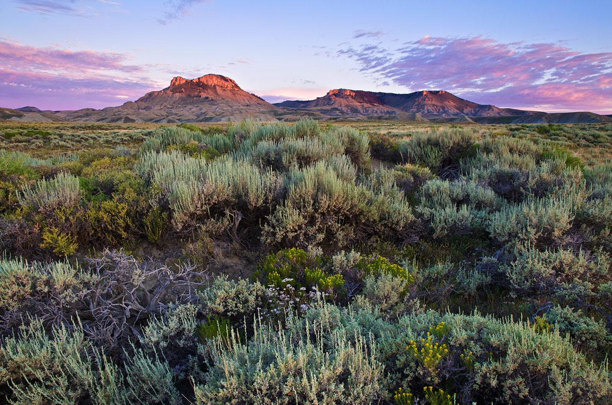 oregon buttes, jack morrow hills, photo