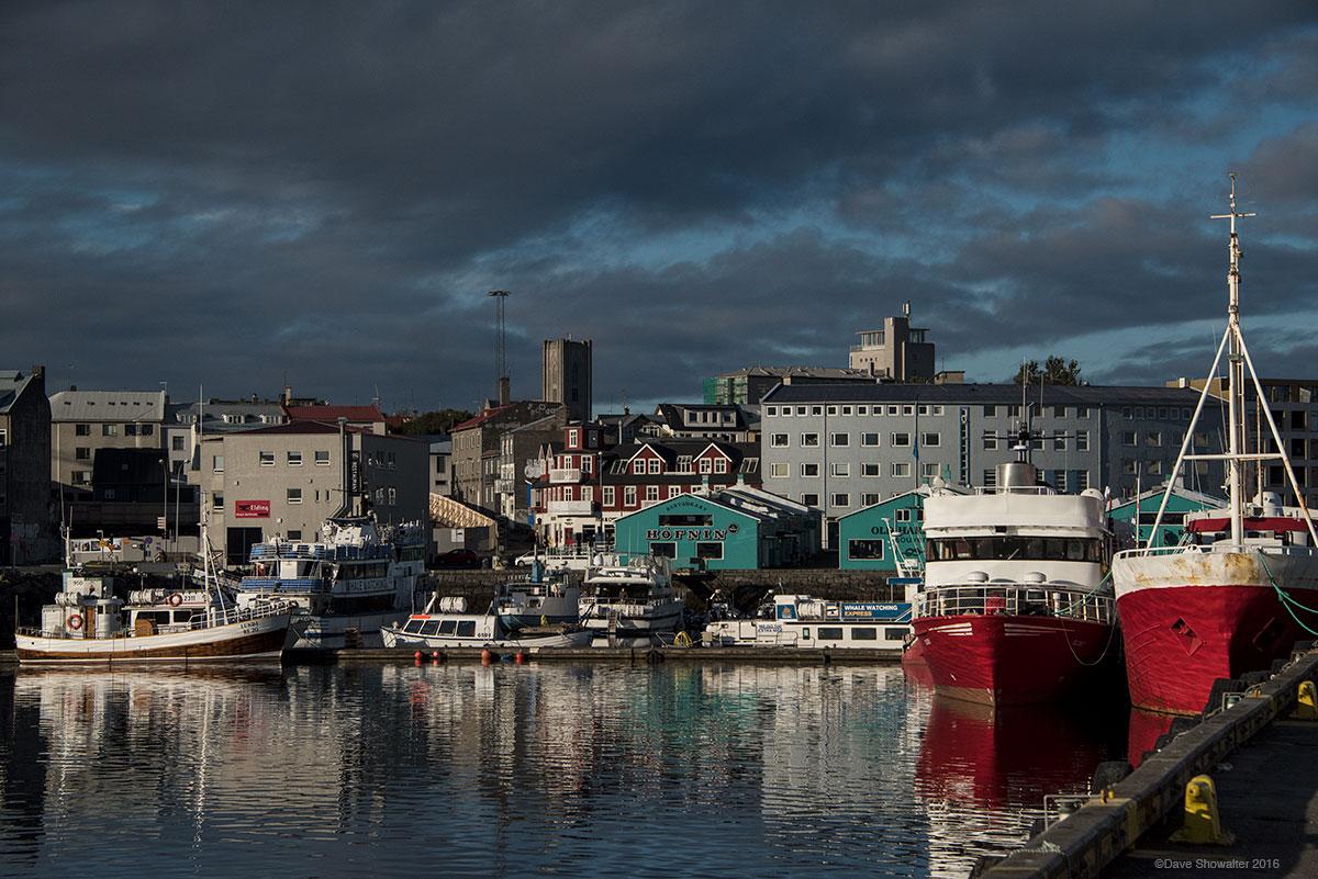 reykjavik, harbor, photo