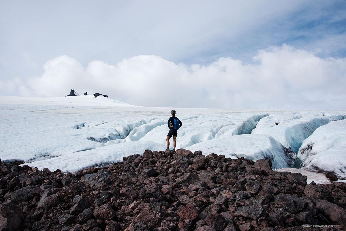 climate change, snaefellsjokull, photo