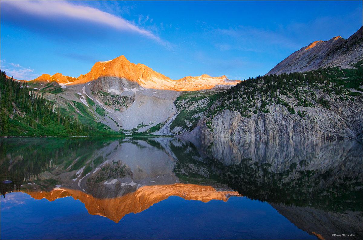 snowmass peak, snowmass mountain, snowmass lake, photo