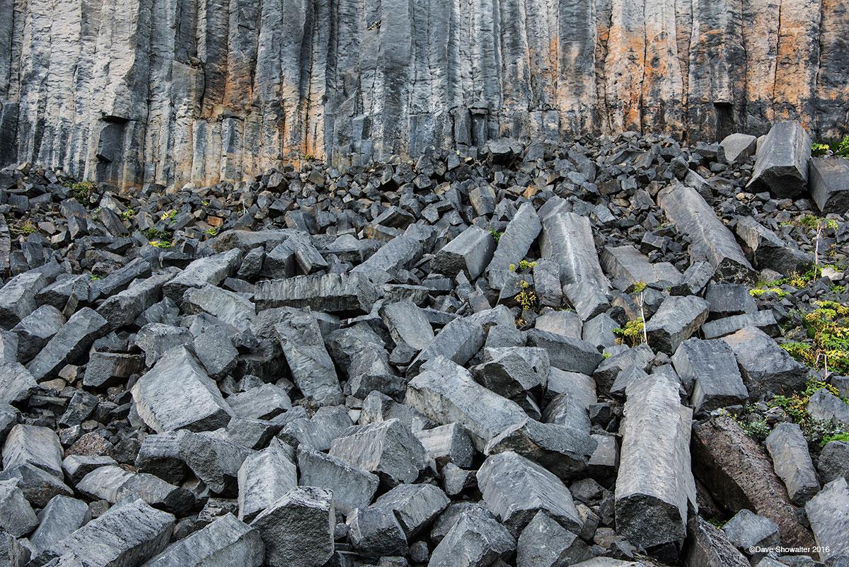 basalt, asbyrgi, photo