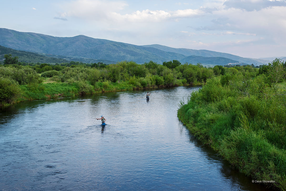 yampa river, fly fish, photo