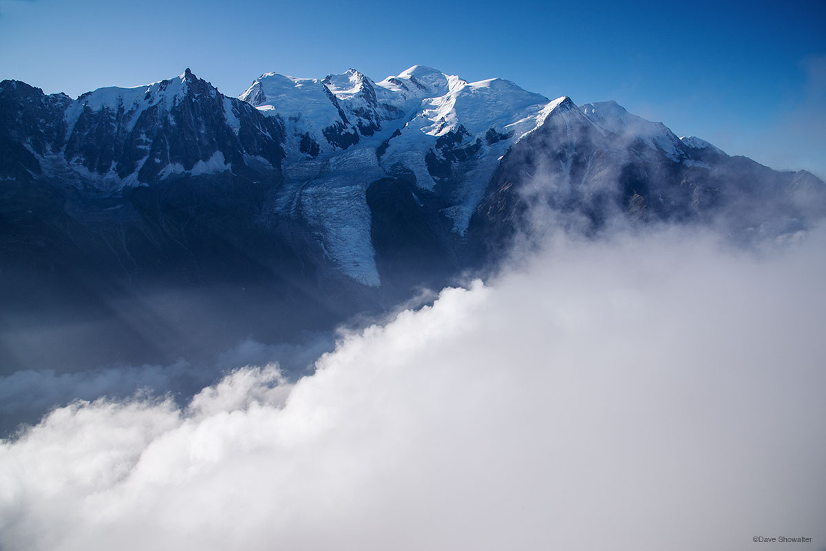 chamonix valley, mont blanc, photo