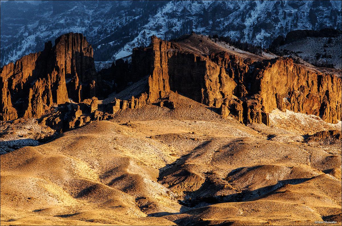 jim mountain, breccia, north fork canyon, photo